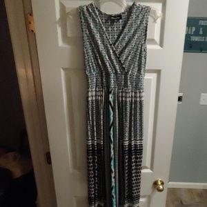 Mystique Aura Sleeveless Maxi Dress